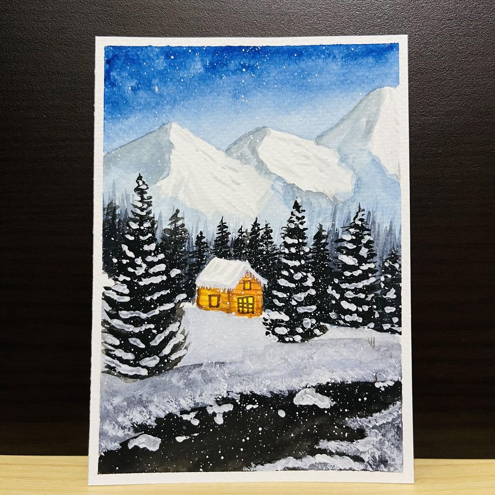 Snowy Christmas - image 1 - student project