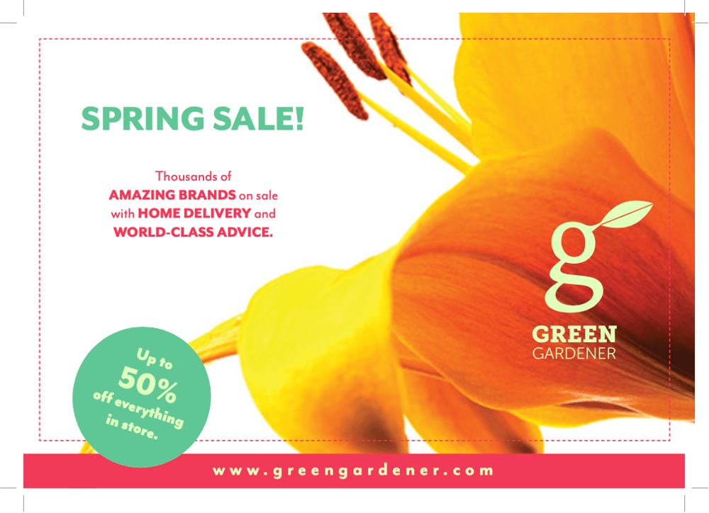 Spring Sale! - image 1 - student project