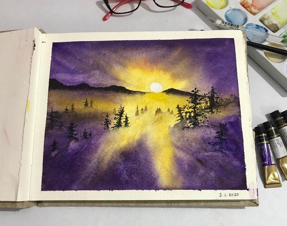 magical sunsets - image 4 - student project