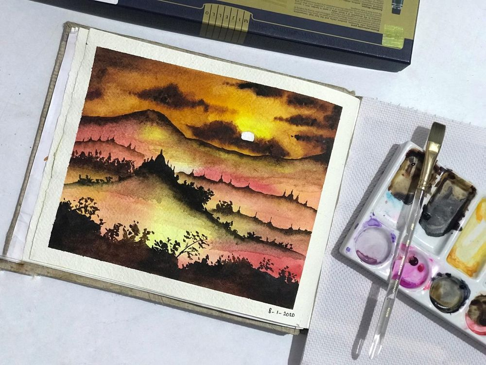 magical sunsets - image 2 - student project