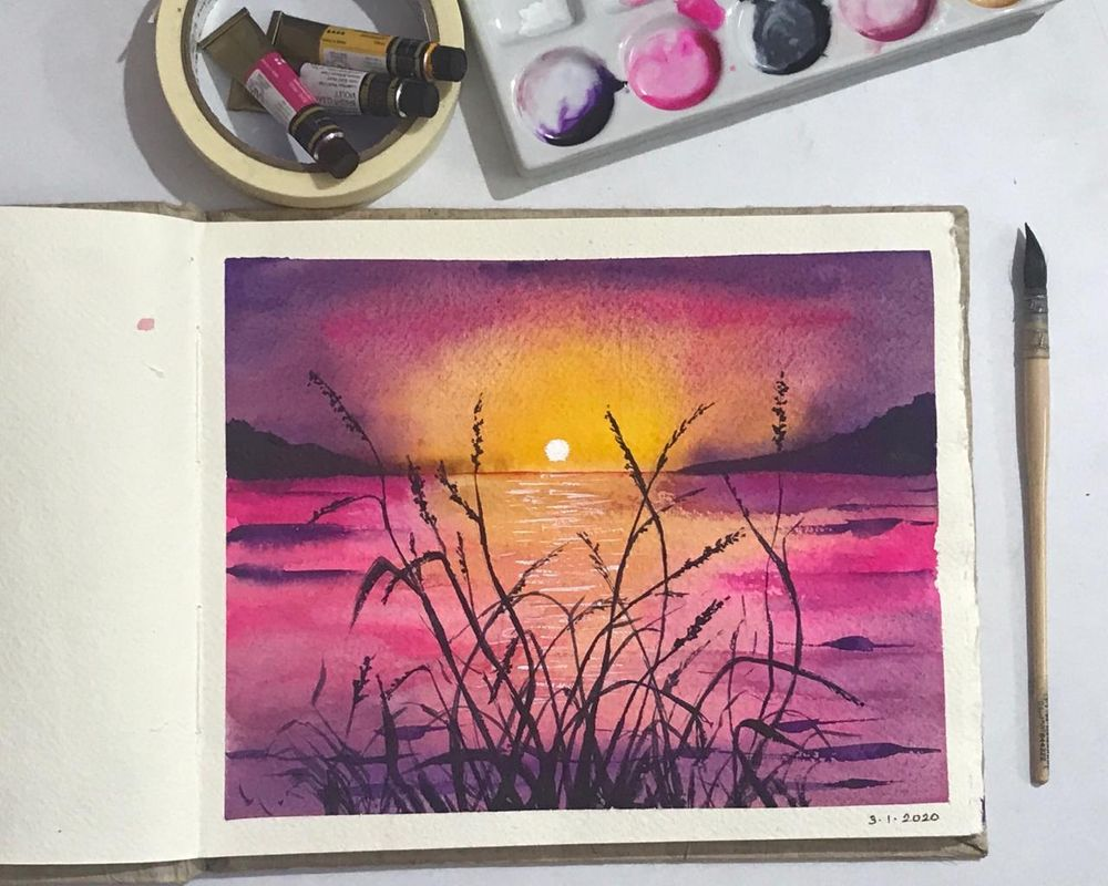magical sunsets - image 3 - student project