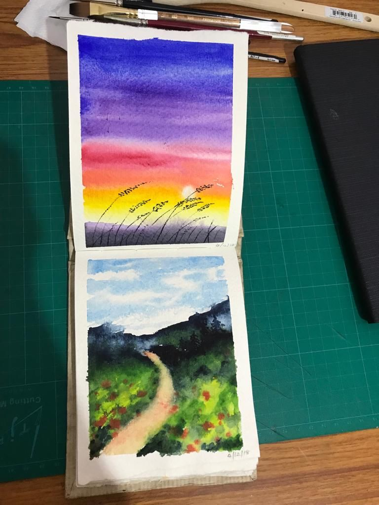 My way of landscapes - image 2 - student project