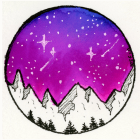 Tombow Galaxy Sky - image 1 - student project