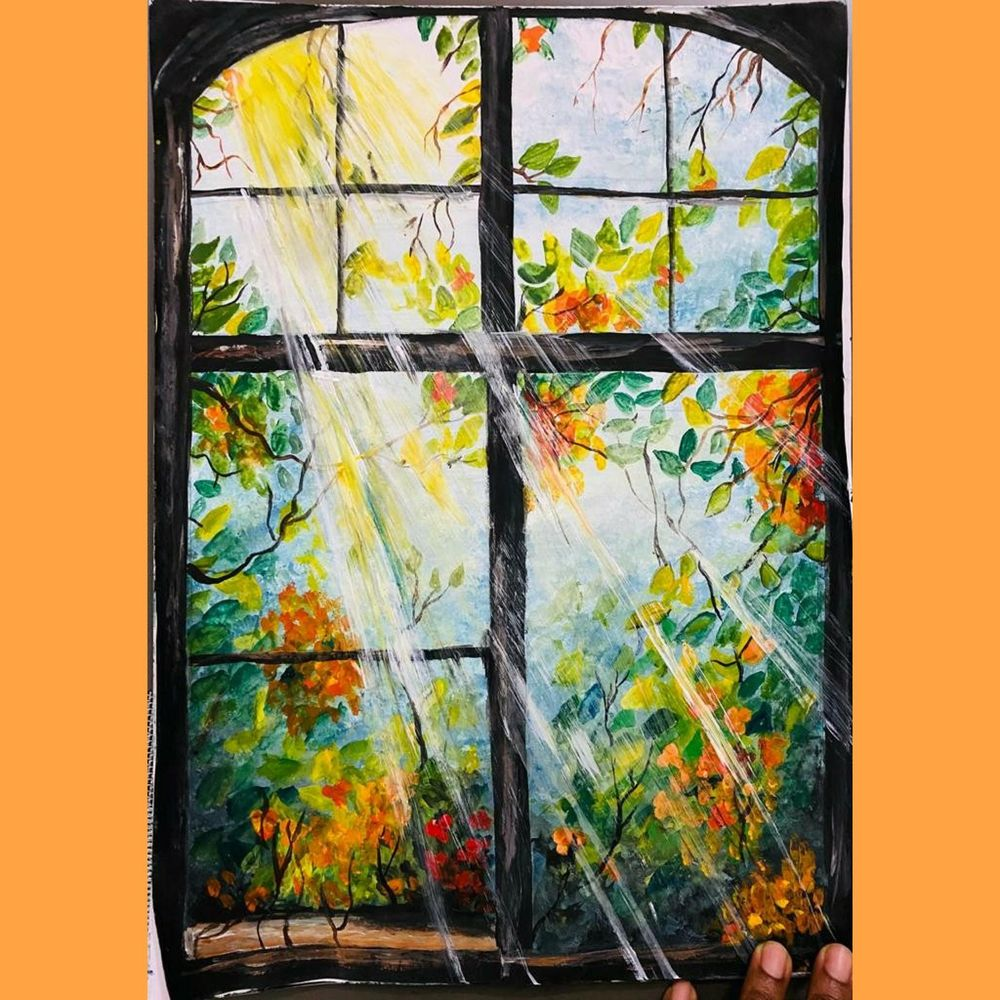 sunrays' painting - image 1 - student project