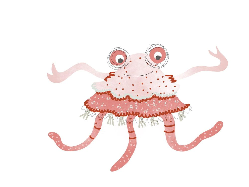 Pink Lady Monster - image 1 - student project