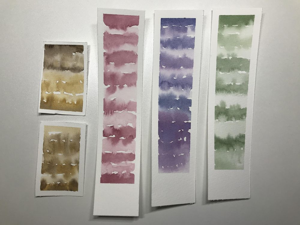 Relaxing watercolour projects - image 1 - student project
