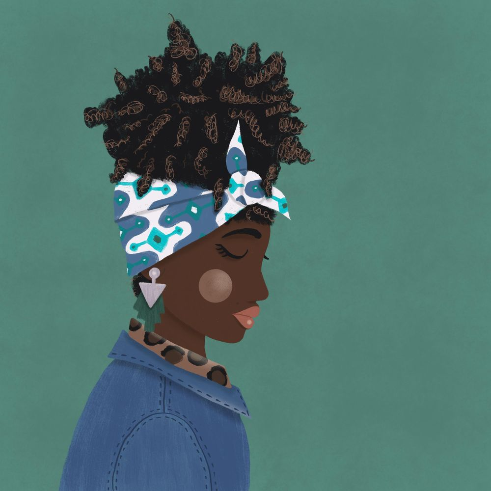 Headscarf girl - image 1 - student project