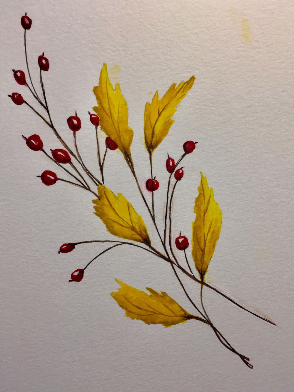 Autumn Leafs and Branches - image 3 - student project