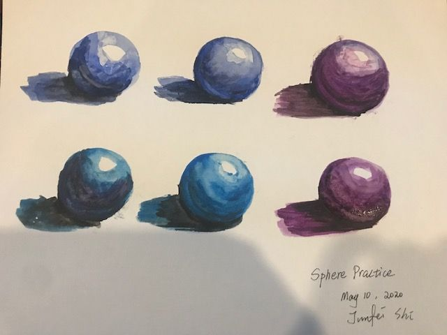 Water Color Drills - image 2 - student project