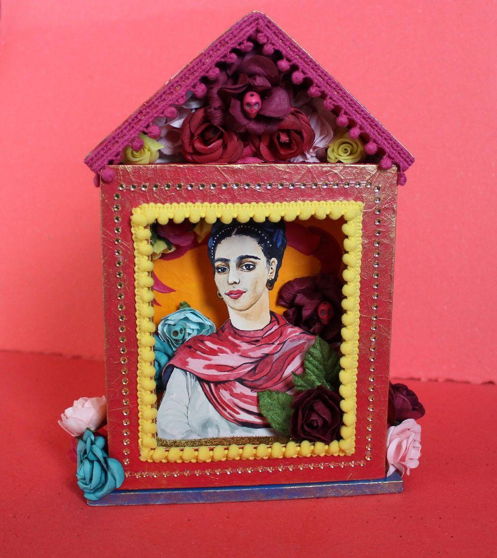 Shrine to Frida Kahlo - image 4 - student project