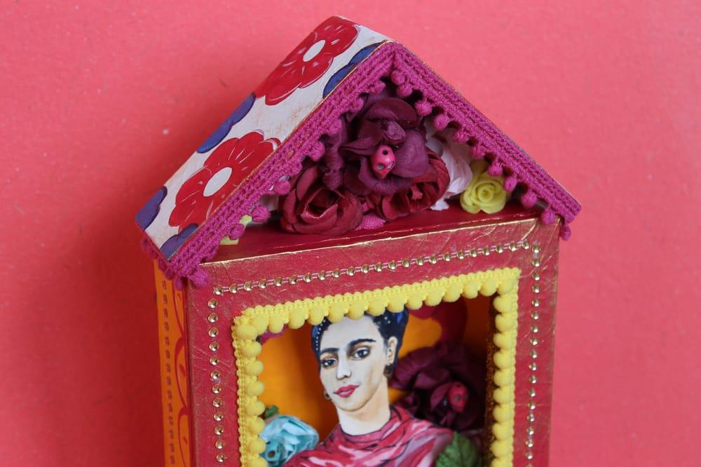 Shrine to Frida Kahlo - image 5 - student project
