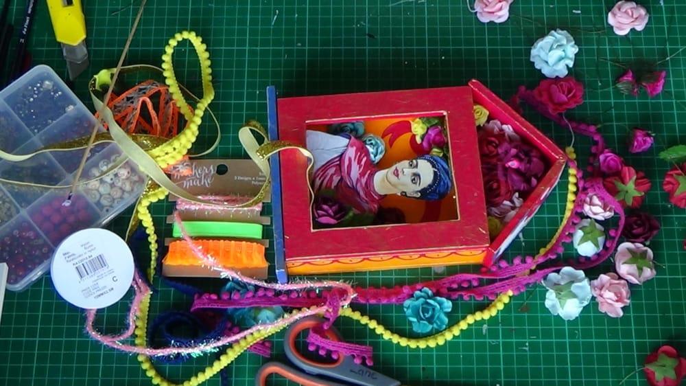 Shrine to Frida Kahlo - image 3 - student project