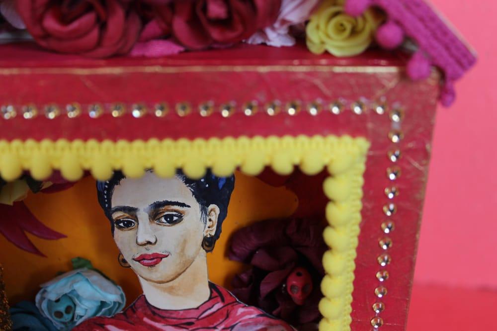 Shrine to Frida Kahlo - image 6 - student project