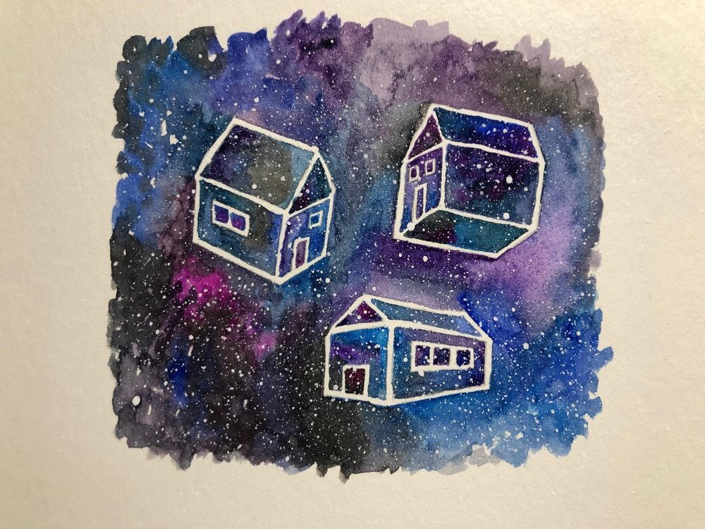 Watercolor exercises - image 9 - student project
