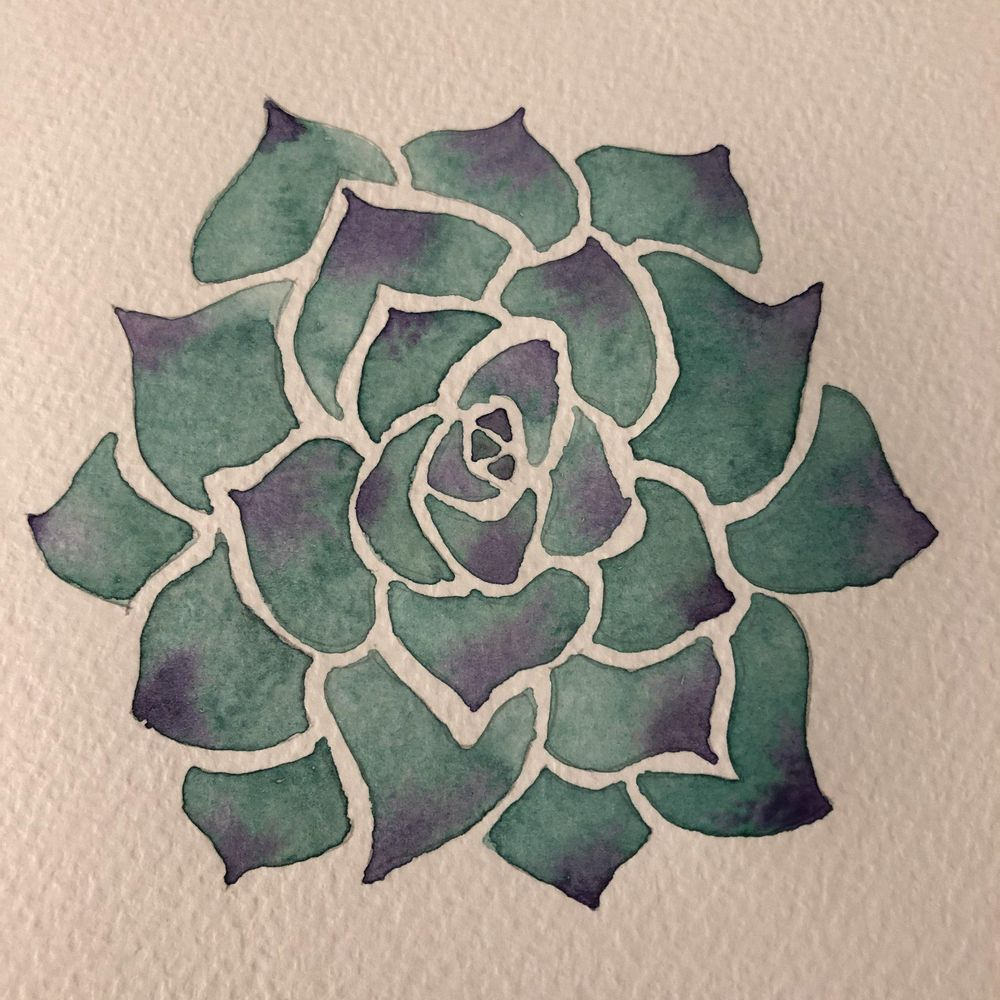 Watercolor exercises - image 1 - student project
