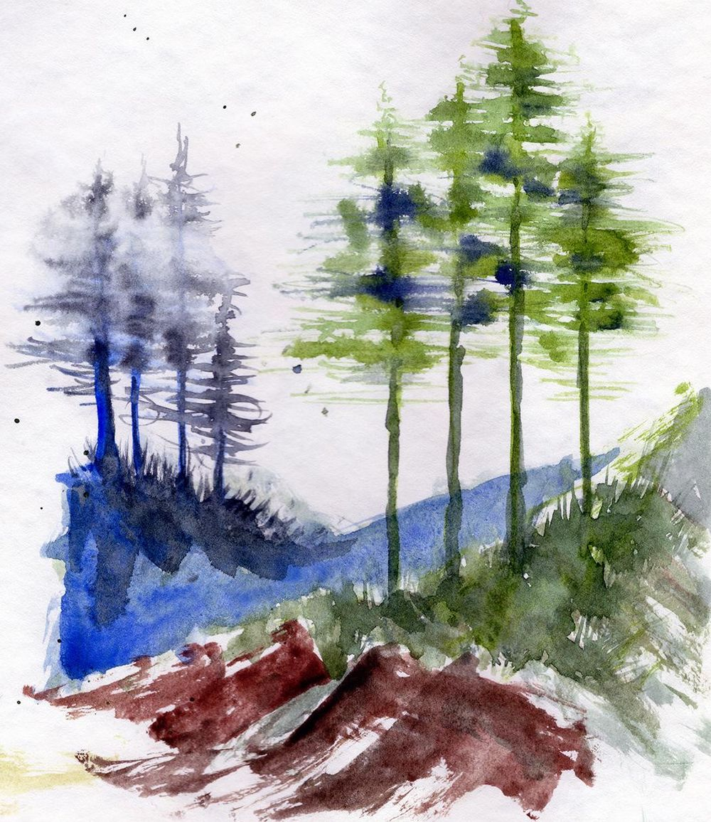 Expressive Brushwork - image 6 - student project