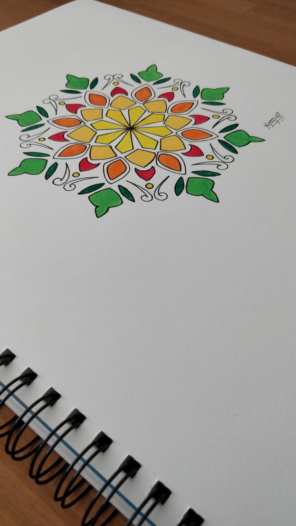 Motif Mandala - image 1 - student project