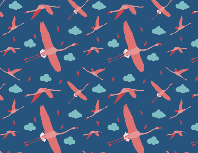 flamingos - image 1 - student project