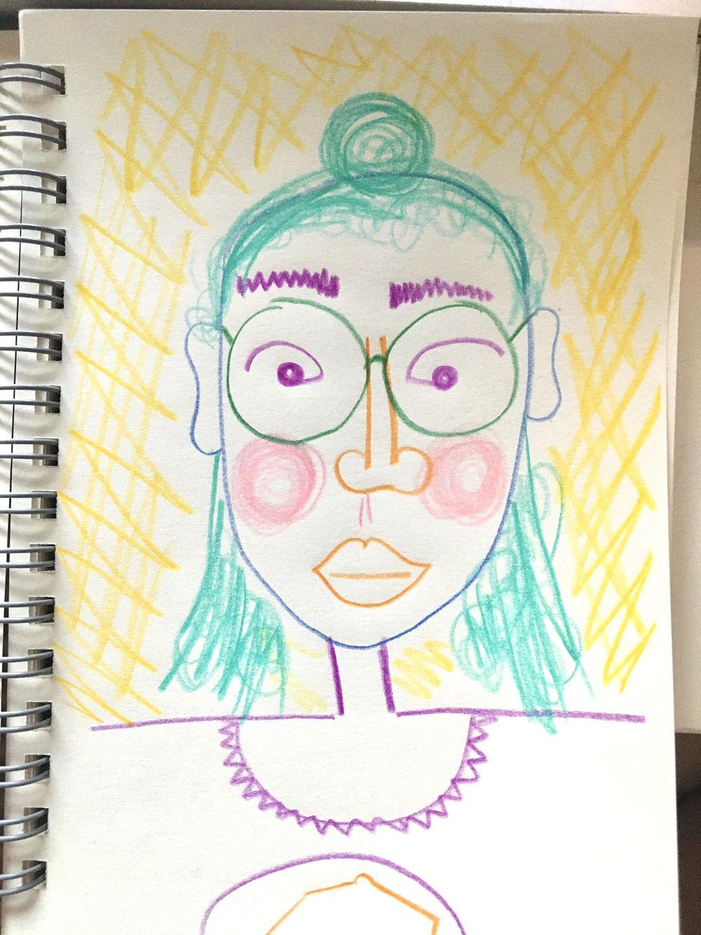 self-portraits - image 1 - student project