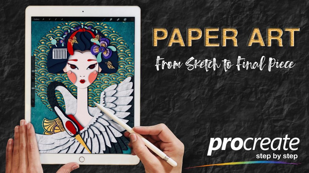 How to get a Paper Cut Effect in Procreate - image 2 - student project