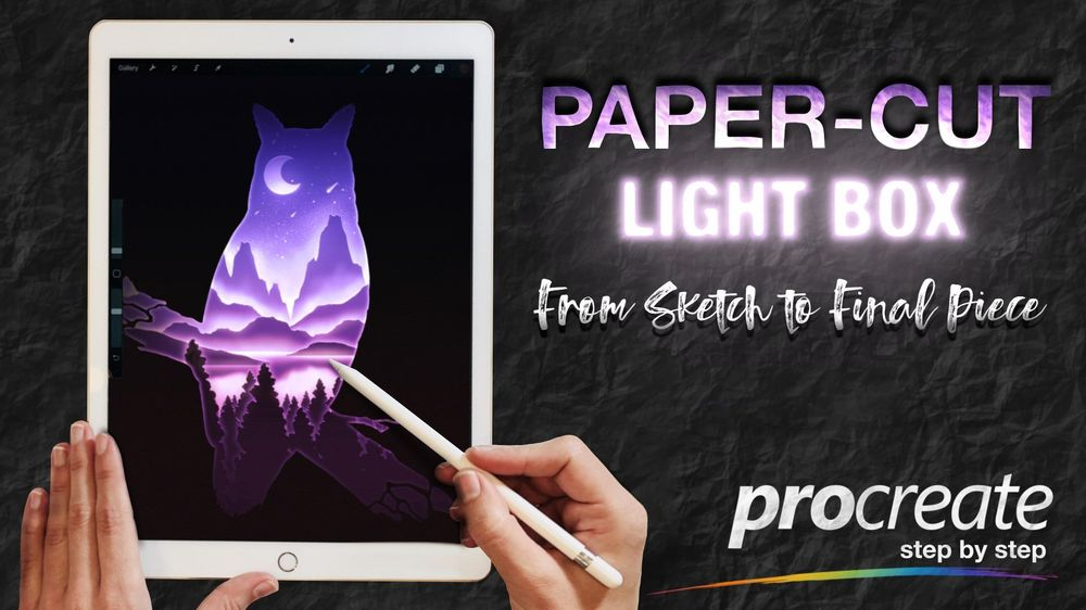 How to get a Paper Cut Effect in Procreate - image 1 - student project