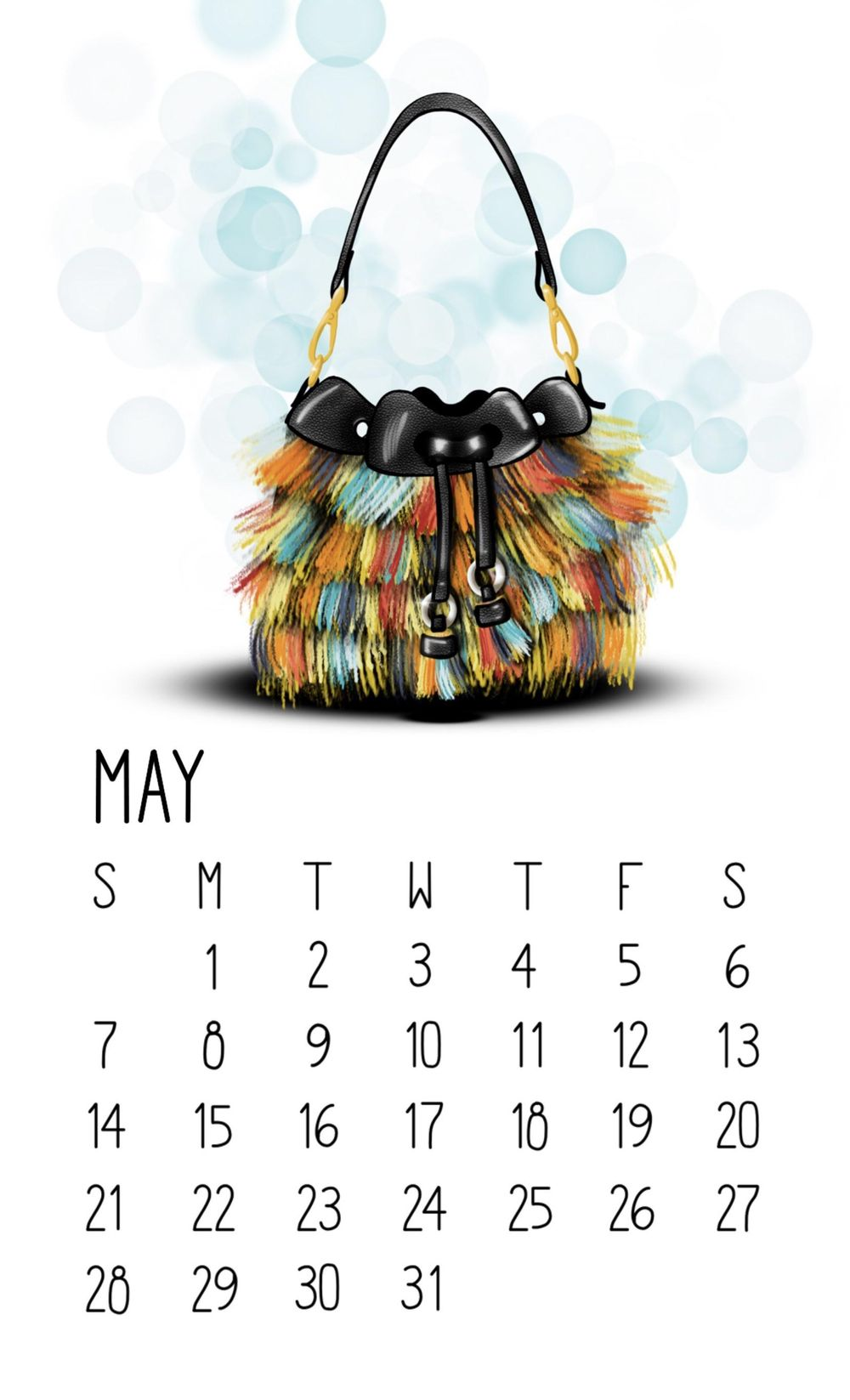 May Calendar! - image 1 - student project