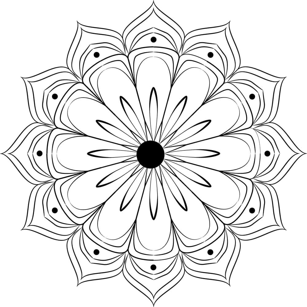 Beautiful mandalas - image 1 - student project