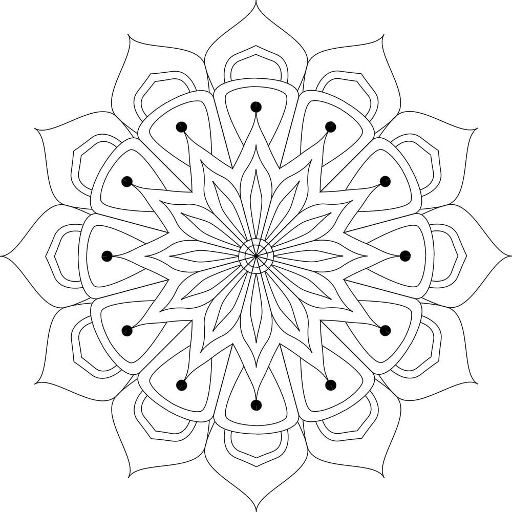 Beautiful mandalas - image 2 - student project