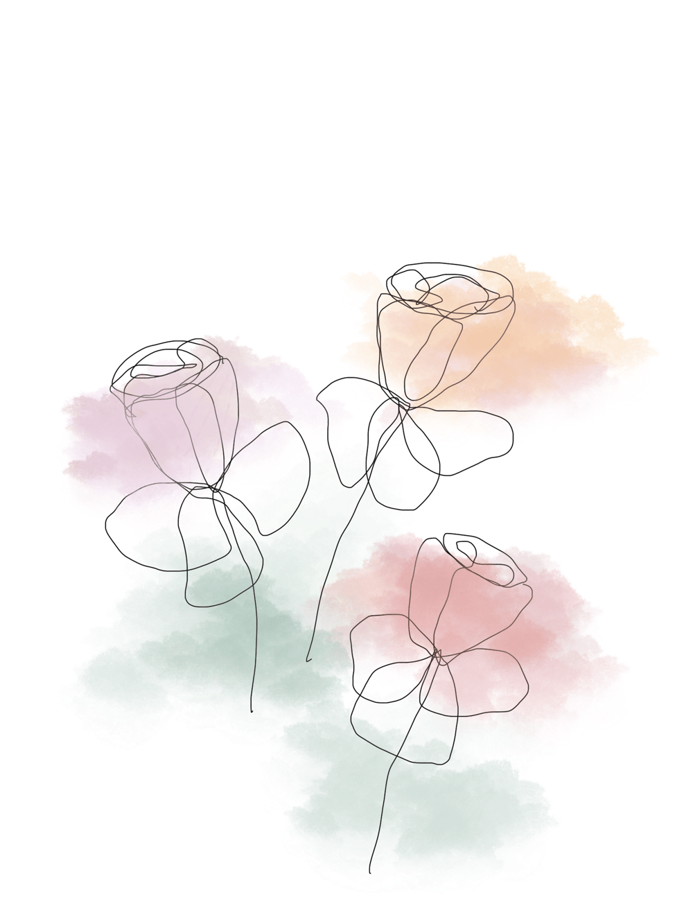 More Flowers - image 1 - student project