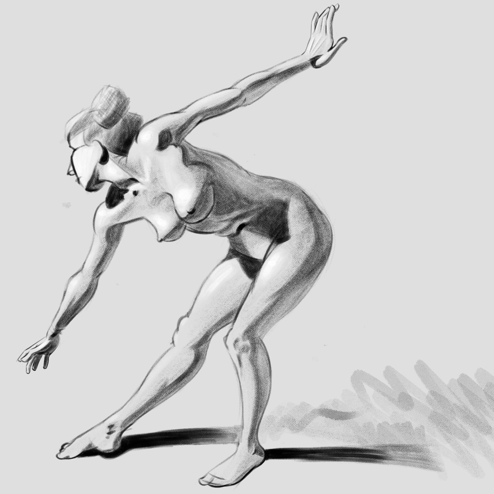 Finally I understand how to approach shading the figure! - image 1 - student project