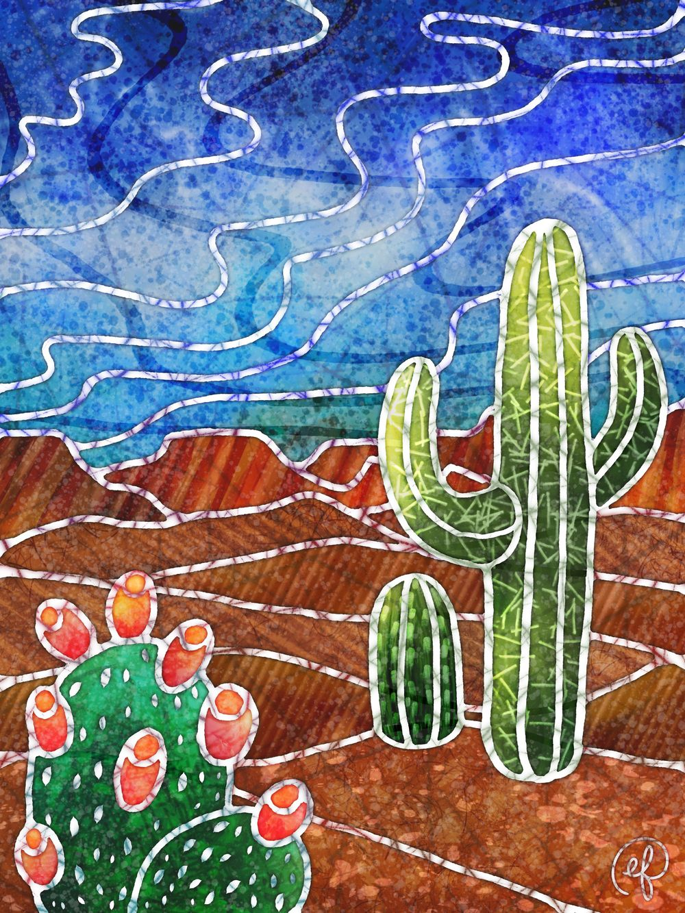 Cactus vibes - image 1 - student project