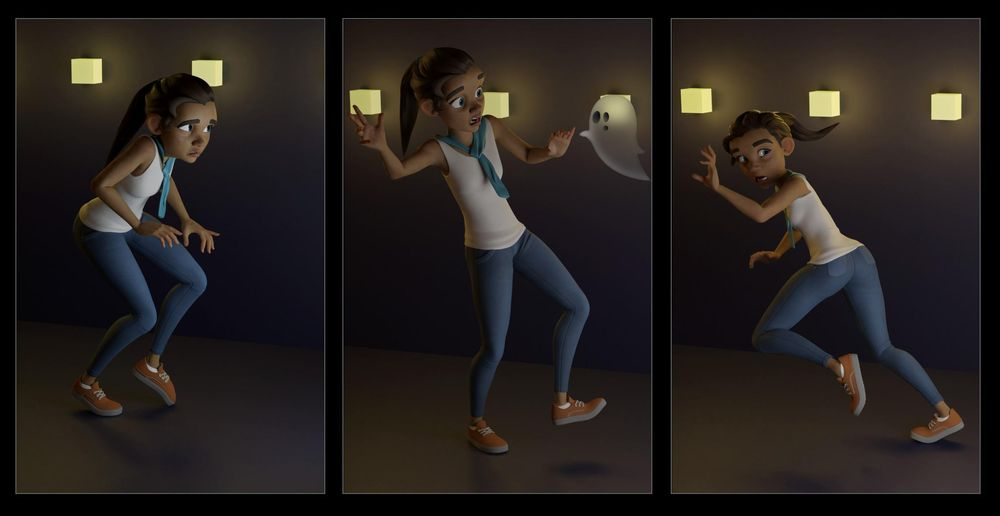 Spooked - image 1 - student project