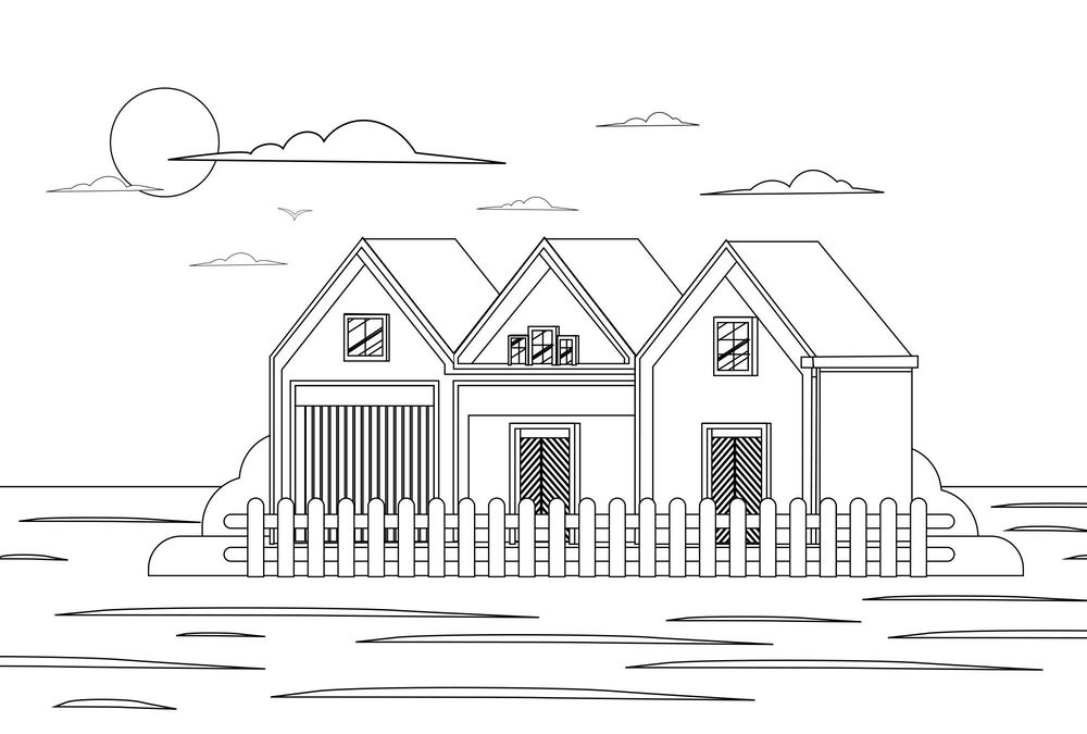 House Illustration - image 1 - student project