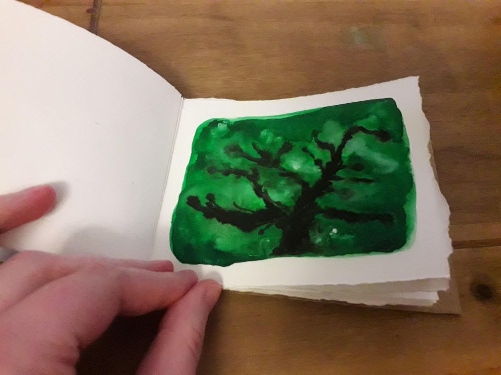 Little Painting Notebook - image 3 - student project