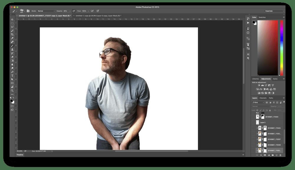 Fall Colors Portrait - image 6 - student project