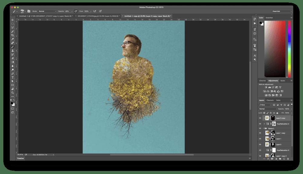 Fall Colors Portrait - image 8 - student project
