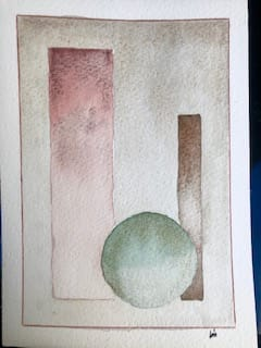 geometric watercolor - image 3 - student project