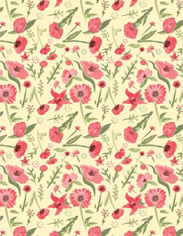 Watercolor pattern - image 3 - student project