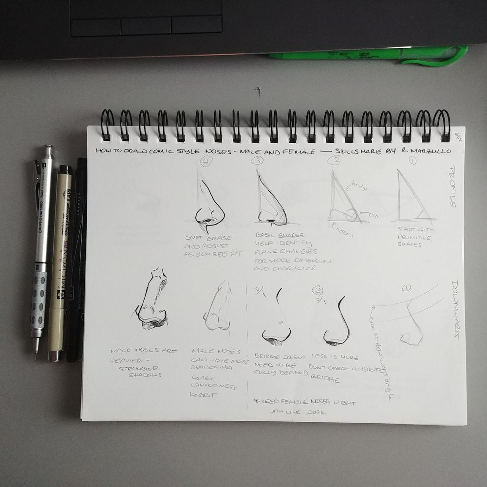 Nose Notes - image 2 - student project