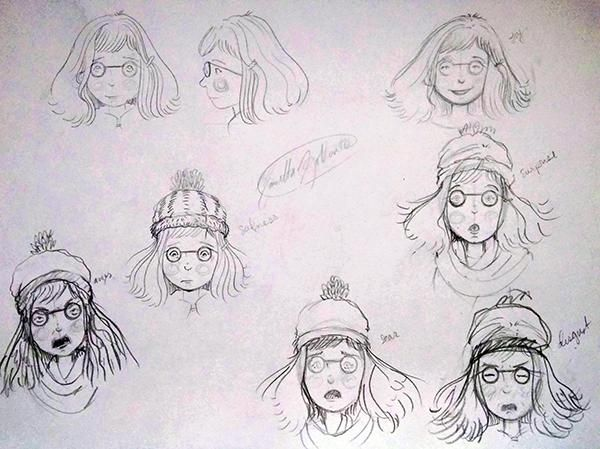 New Character: emotions - image 1 - student project