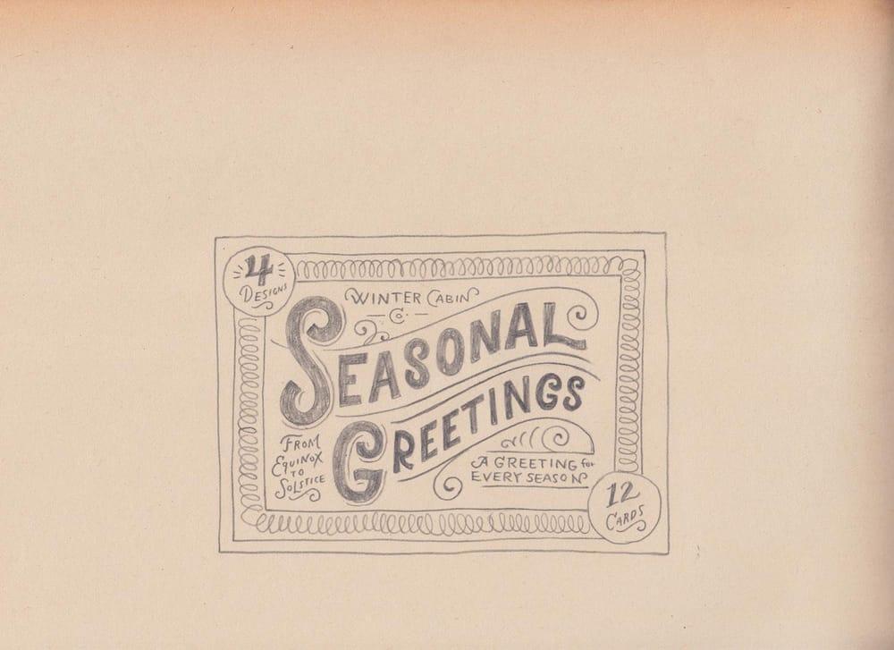 Seasonal Greetings Box - image 14 - student project