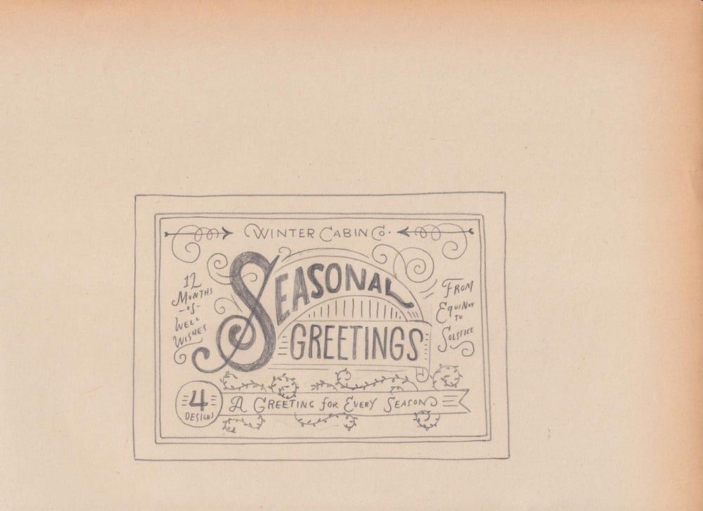 Seasonal Greetings Box - image 15 - student project