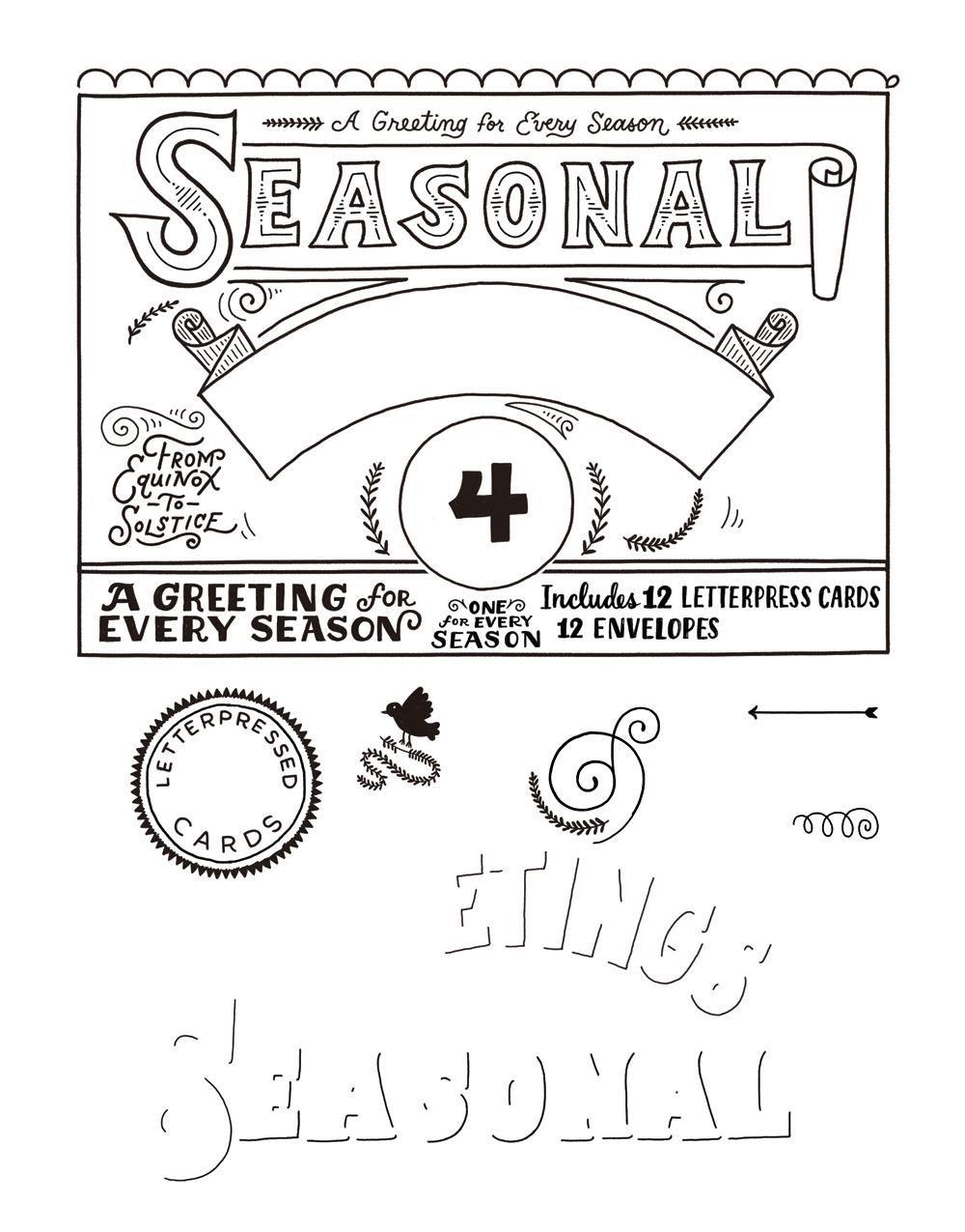 Seasonal Greetings Box - image 16 - student project