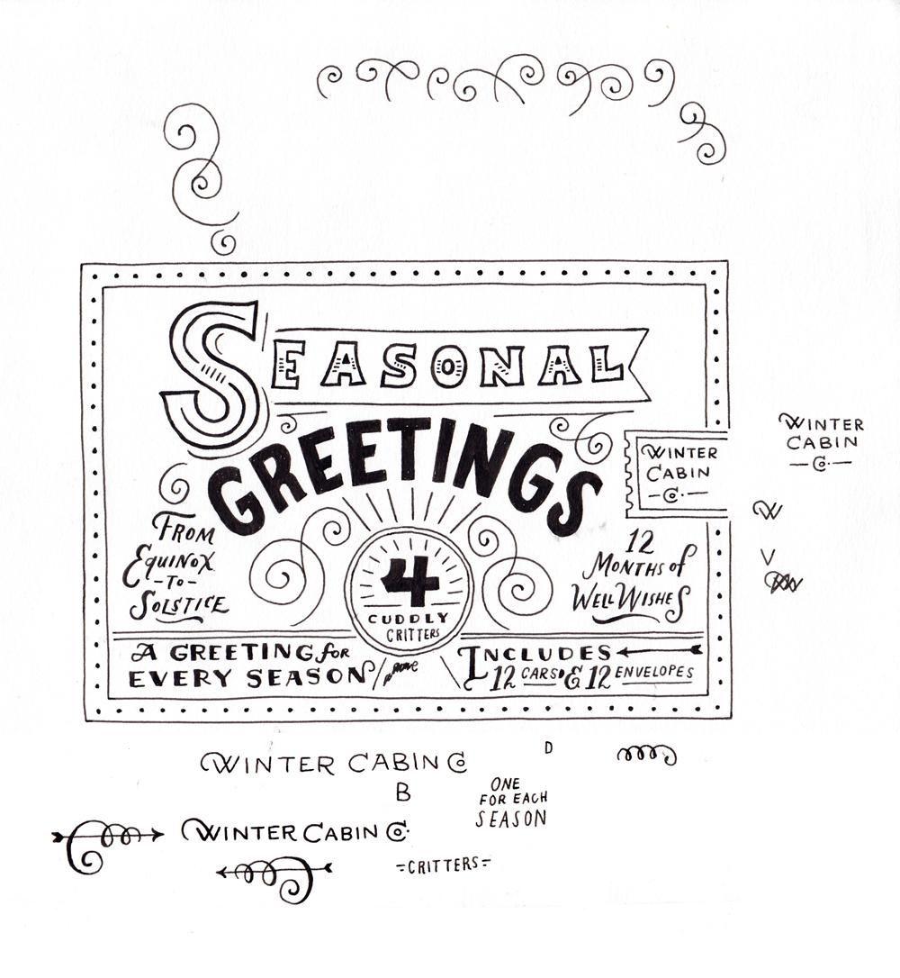 Seasonal Greetings Box - image 17 - student project