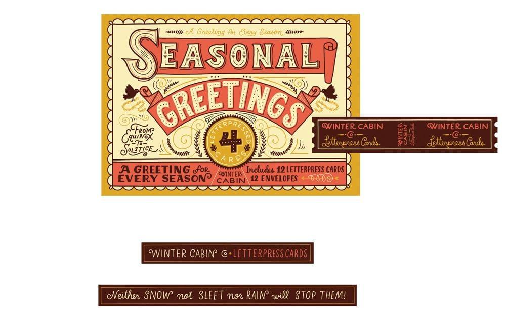 Seasonal Greetings Box - image 22 - student project