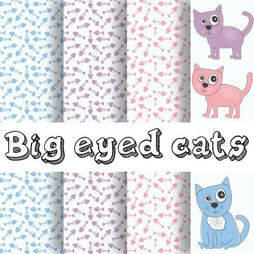 Big eyed cats - image 1 - student project
