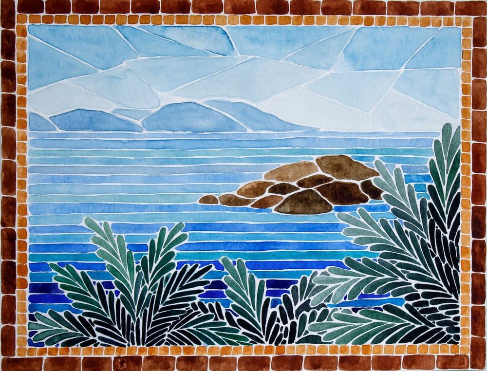 Turkish island mosaic - image 1 - student project
