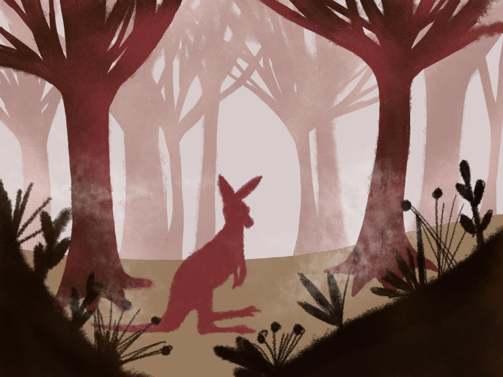 Forest scene - image 1 - student project