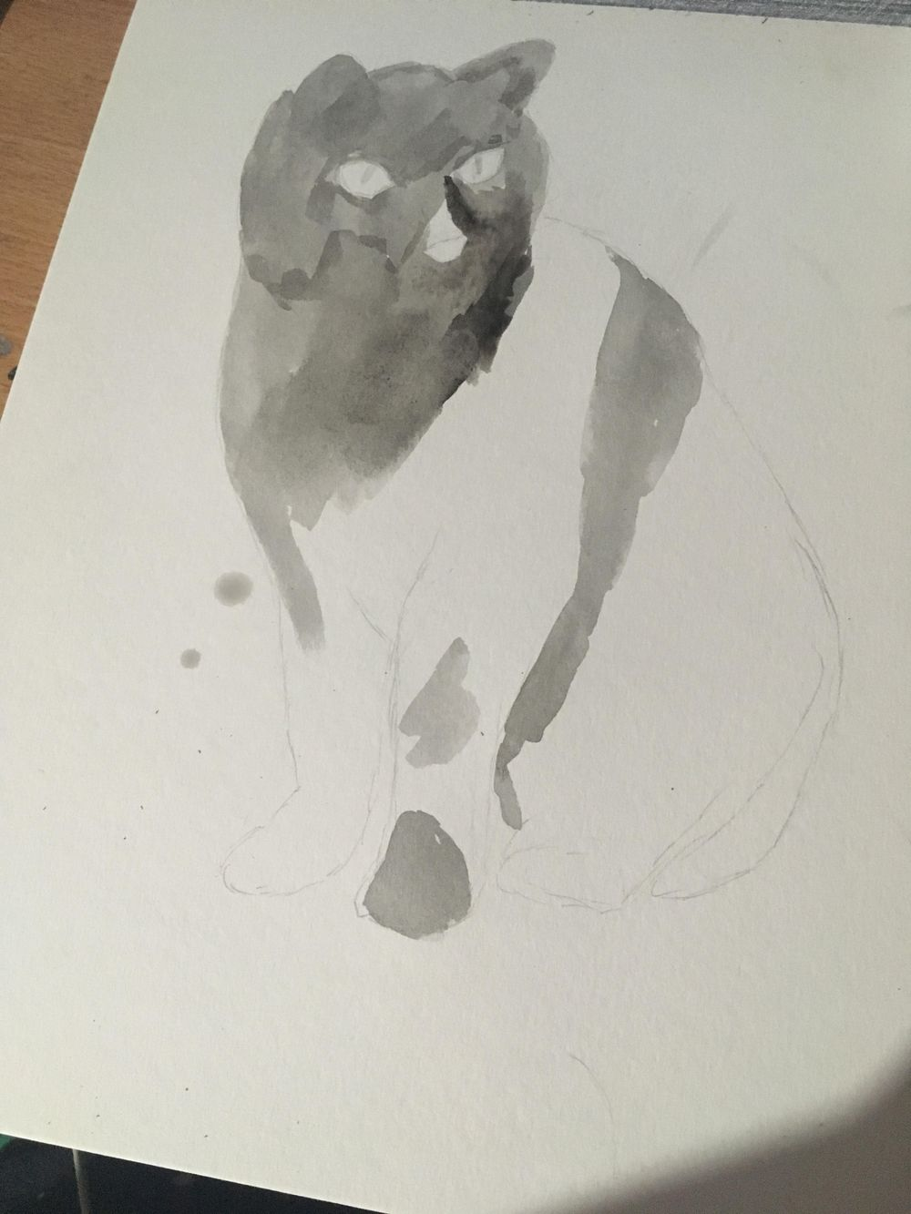 Watercolor Animals! - image 1 - student project