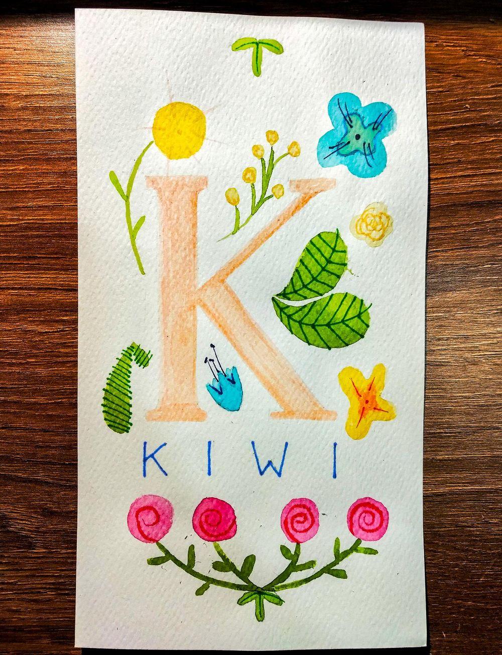 Kiwi - image 1 - student project